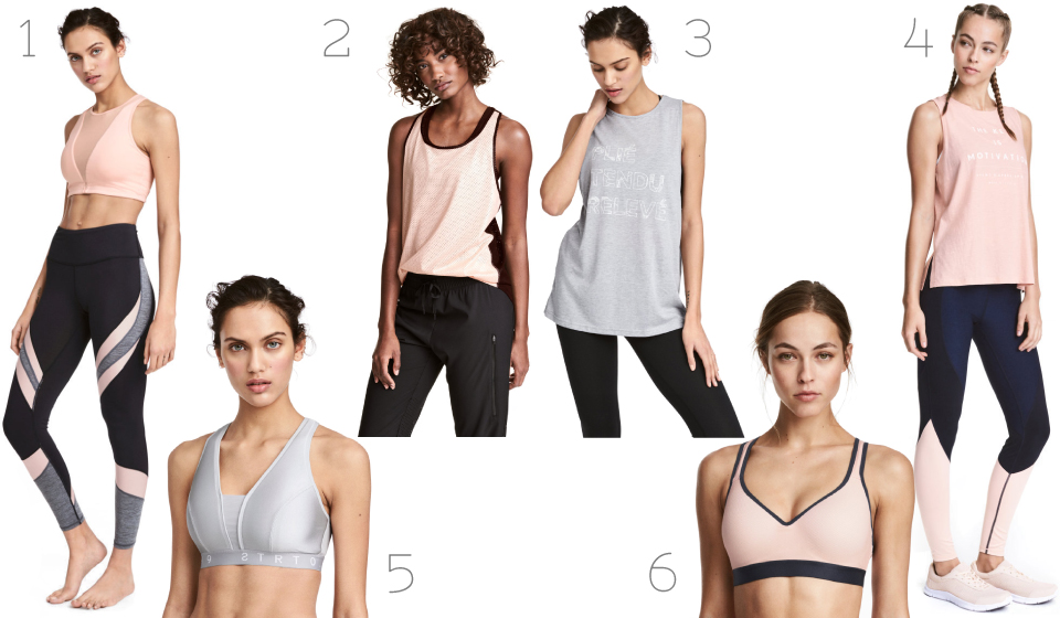 h&m, affordable sportswear, yoga, yoga style, supportive sports bra, blogger