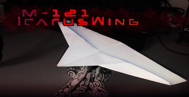 Avión de papel M-121 IcarusWing