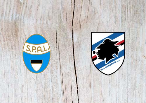 SPAL 2013 vs Sampdoria - Highlights 3 March 2019