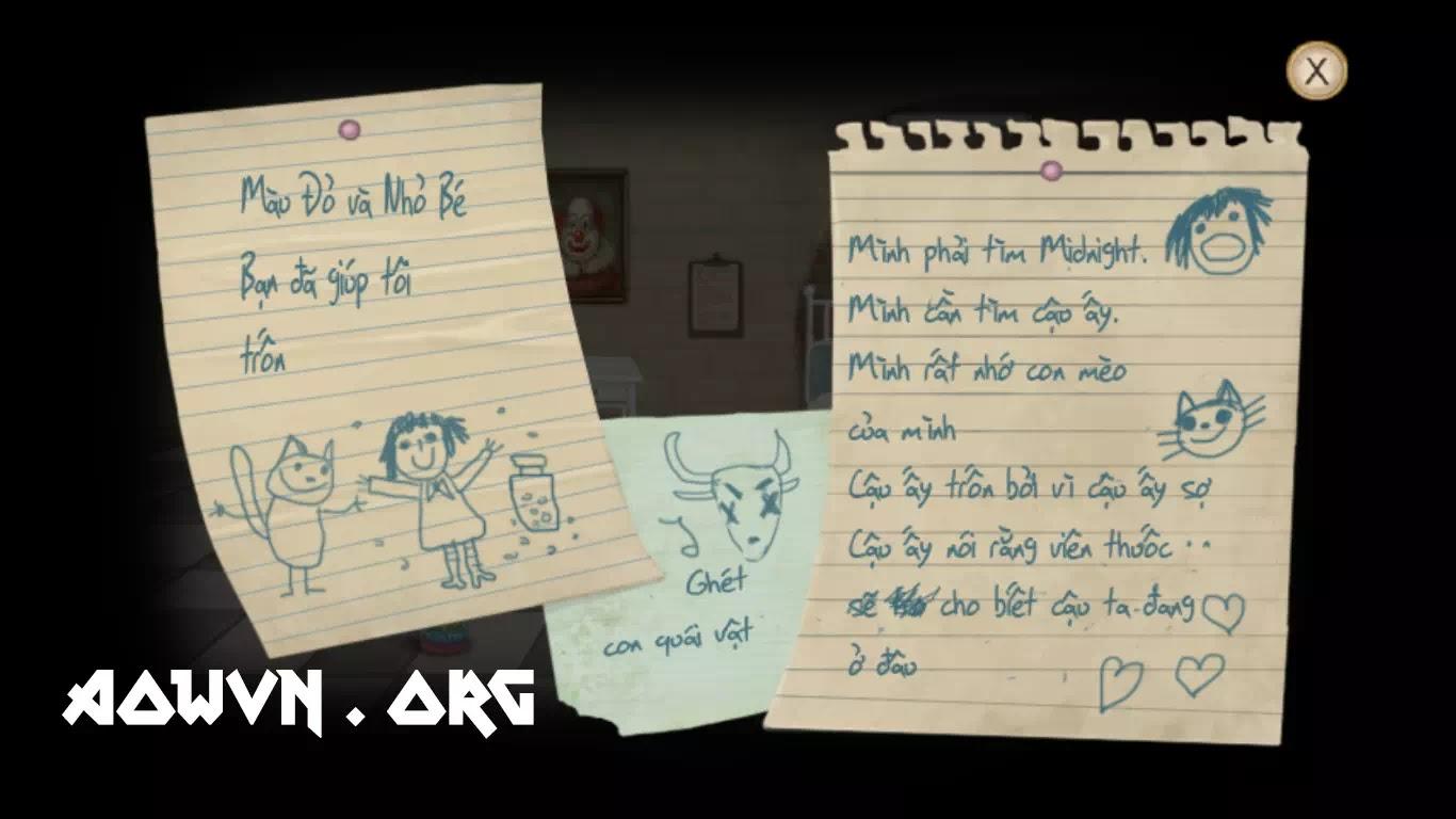fran bow viet hoa game android ios aowvn%2B%25281%2529 - [ FIX ] Fran Bow Việt Hóa Full 5 Chapter | Game Android Giải Đố Kinh Dị Tuyệt Hay