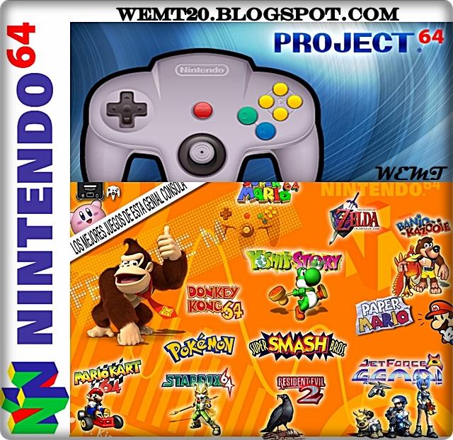 Donde Puedo Descargar Juegos Para Emulador De Nintendo 64 Para