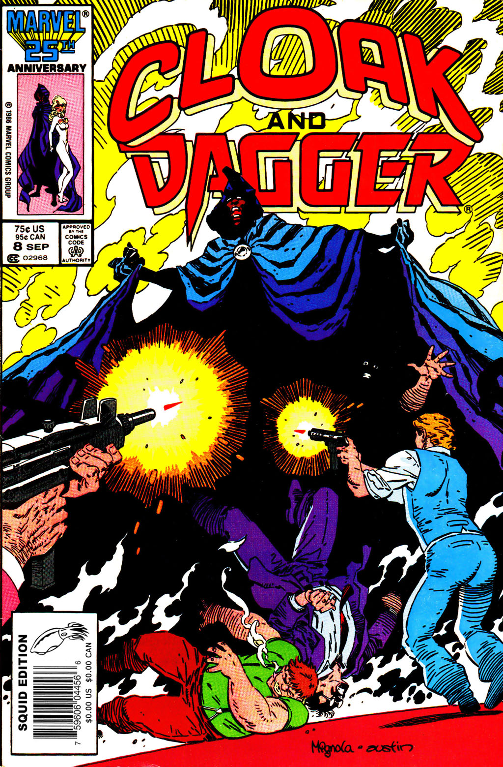 Cloak and Dagger (1985) 8 Page 1