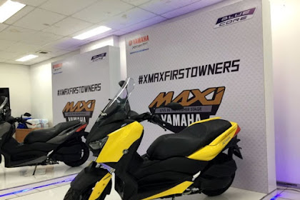 Inilah Pilihan Warna Yamaha XMax 250