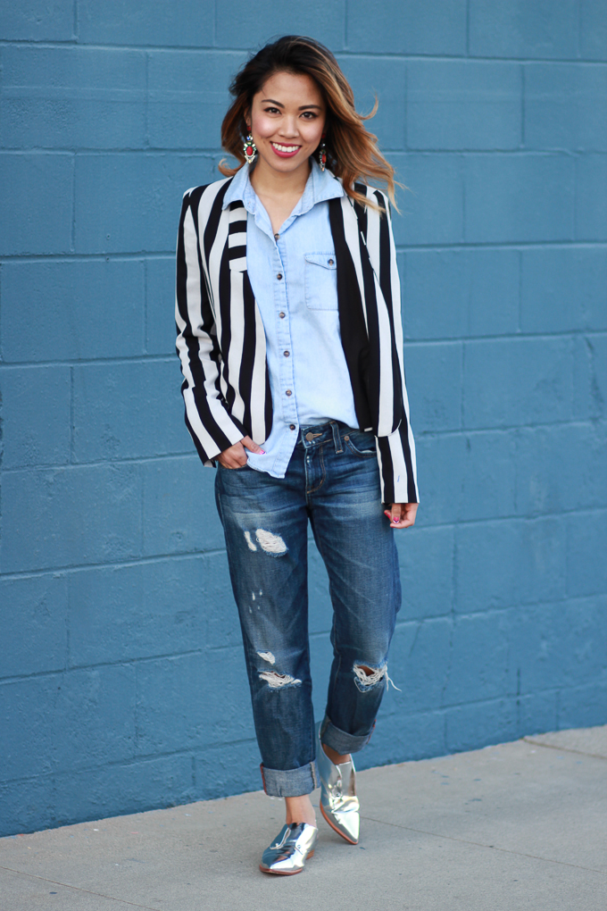 Canadian Tuxedo, denim, denim on denim, chambray, spring style