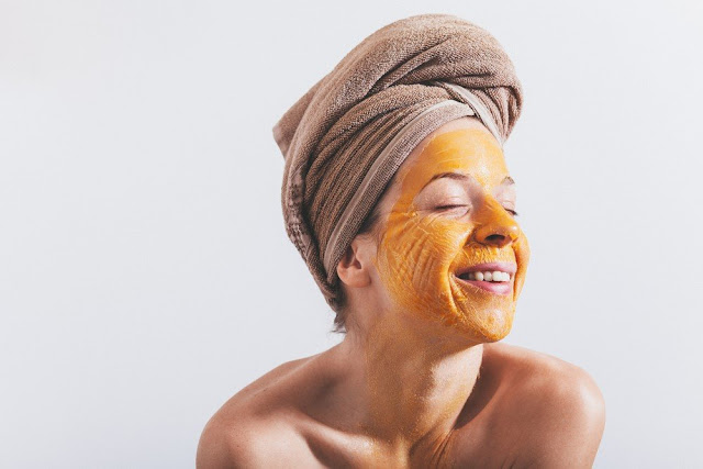 Egg face mask: