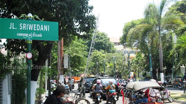 Jalan Sriwedani Yogyakarta