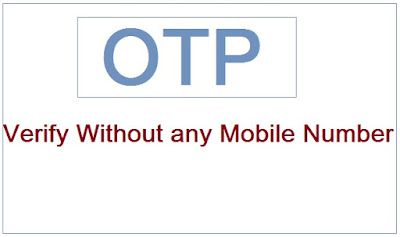 Otp-verification-without-mobile-number