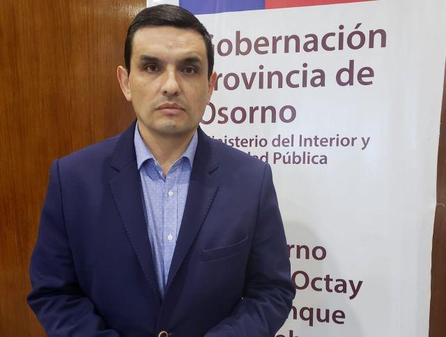 Gobernador de Osorno, Mario Bello