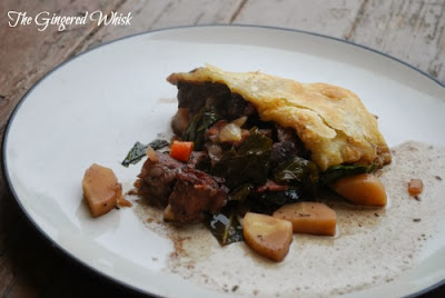 Steak and Root Vegetabe Pot Pie