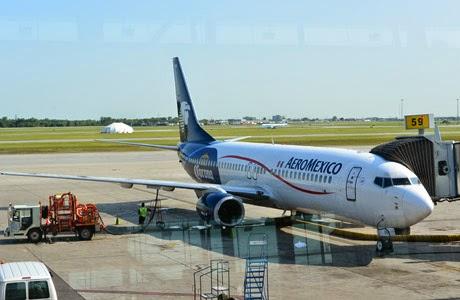 vuelo, Aeromexico, Canadá, Montreal