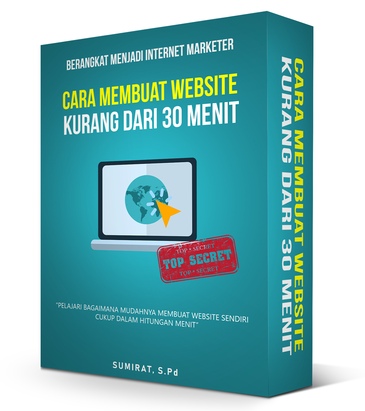 Membuat website tutorial ebook