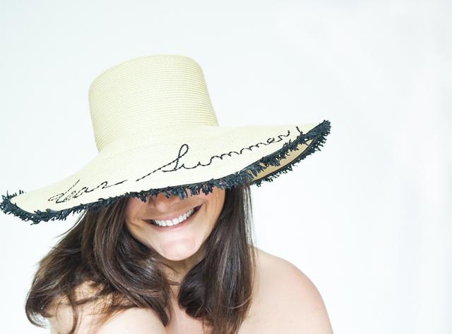 Summer statement hat