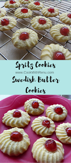 Spritz Cookies (Swedish Butter Cookies)