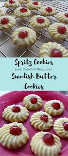 Spritz Cookies (Swedish Butter Cookies)