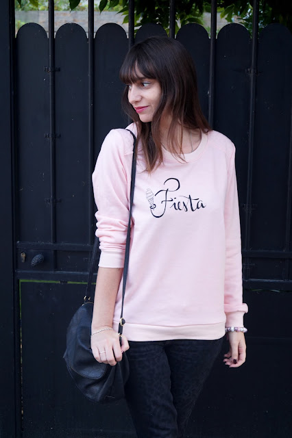 look rose sweat blog mode bordeaux