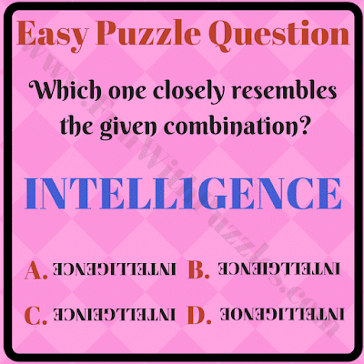 Non verbal reasoning easy question