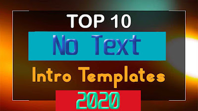 d intro no text free download