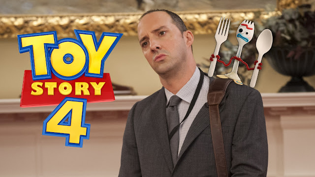 Tony Hale plays Forky in Toy Story 4