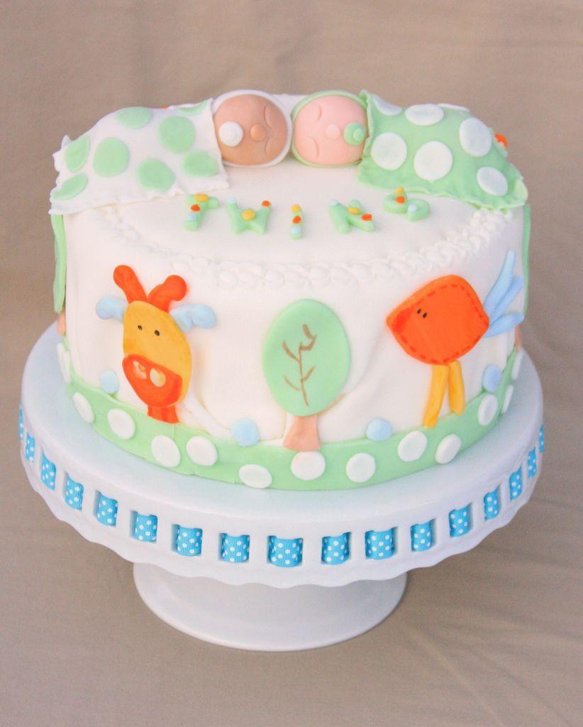 cakealicious surprises baby twins cake pregnancy announcement. Black Bedroom Furniture Sets. Home Design Ideas