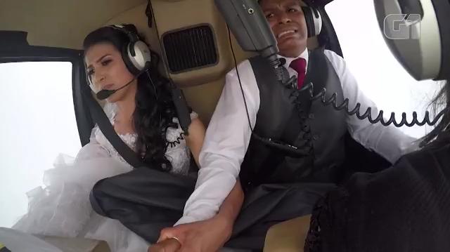 Câmera registrou queda de helicóptero que matou noiva, e vídeo é usado em investigação 🔴 VÍDEO 🔴