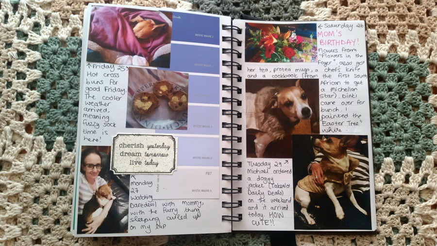 diy smashbook scrapbook journal