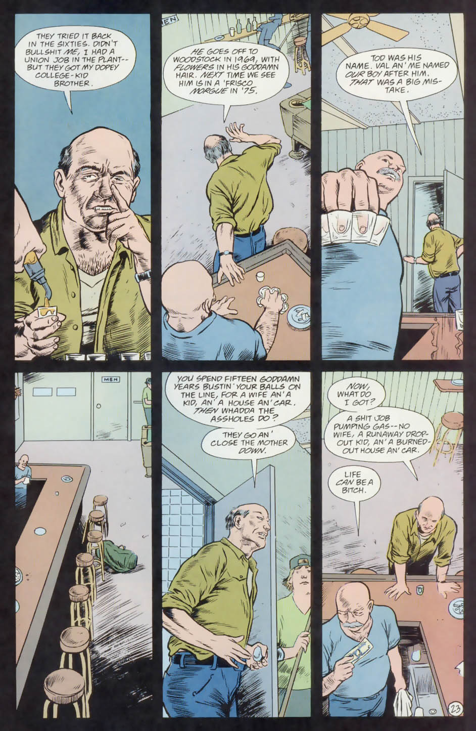 Read online Animal Man (1988) comic -  Issue #74 - 24