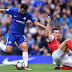Saling Jual Beli Serangan, Chelsea Ditahan Arsenal Di Babak Pertama