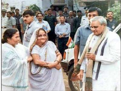 Atal Bihari Vajpayee Mamata Banerjee, 2000