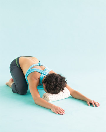 happy and healthy stress relief  one yoga pose a day
