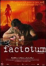 """Carátula del DVD: """"Factotum"""""""