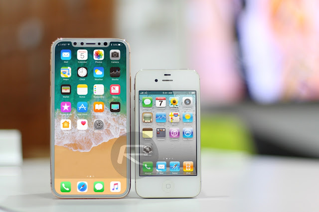 Now That We Have A Long History Of Ten Years Seeing Different Models IPhone It Is Interesting To See Graphically How Has Changed The Appearance