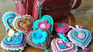 Paso a paso de corazones al crochet: idea para regalar