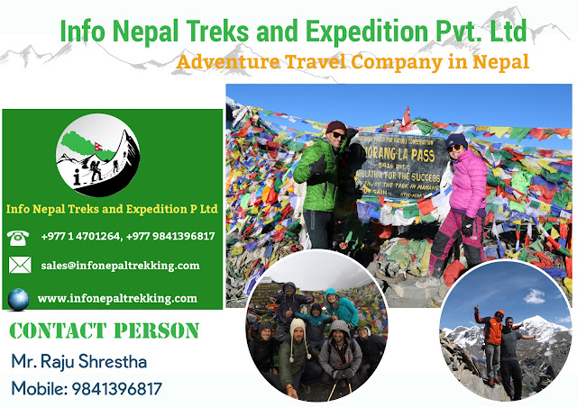 Info Nepal Treks and Expedition Banner