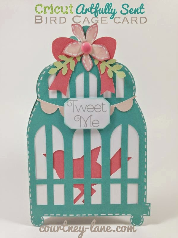 Close To My Heart Artfully Sent Birdcage Card