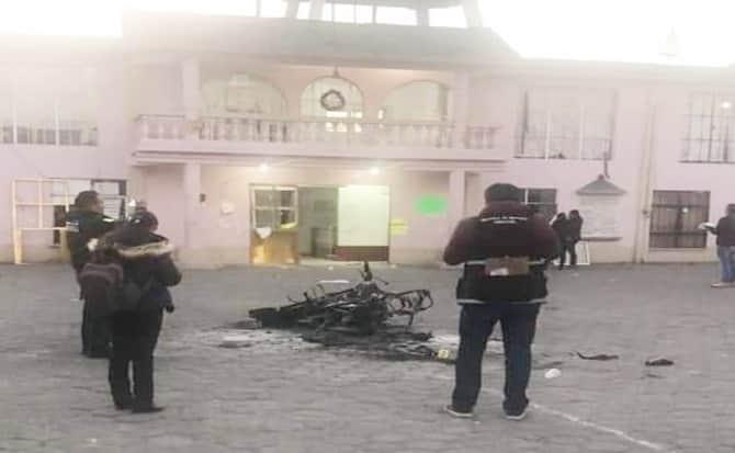 Justicieros, explanada, plaza