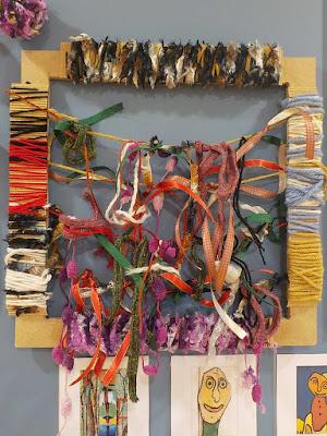 Fanny Viollet - ateliers des cadres à noeuds en maternelle