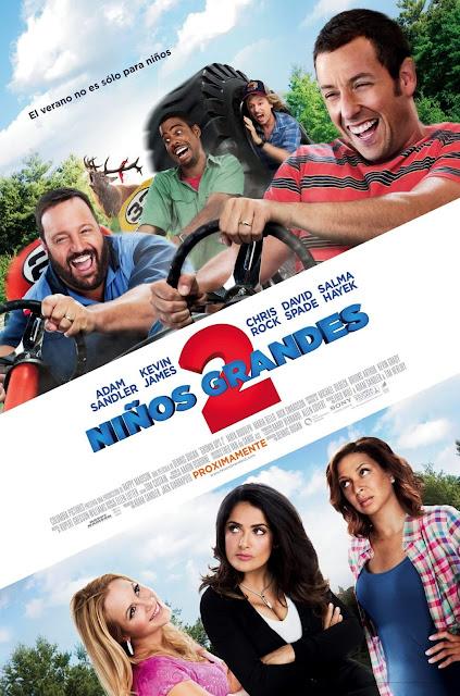 Cartel: Niños grandes 2 (2013)