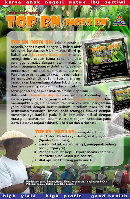 Brosur Mosa Top BN Pestisida Organik Pertanian