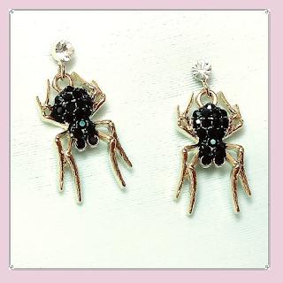 Brincos de aranha, bijuterias