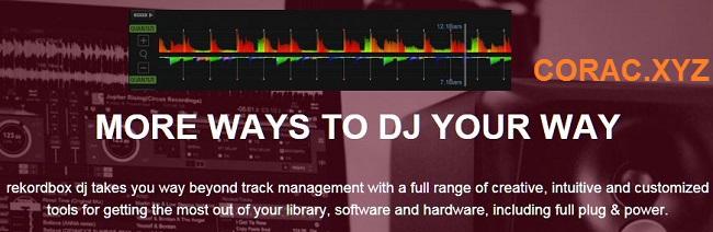 Phần mềm DJ Pioneer Rekordbox full portable