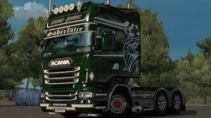 Green Power Skin for Scania RJL
