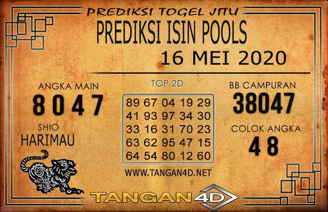 PREDIKSI TOGEL ISIN TANGAN4D 16 MEI 2020