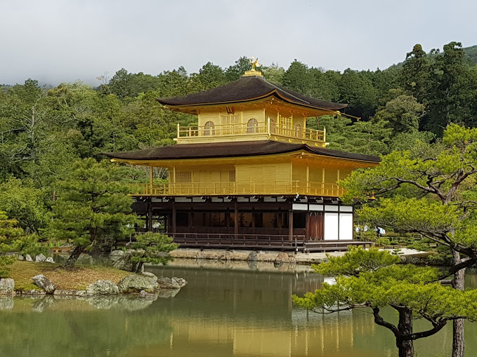 Kinkaku-ji. It's just WOW!