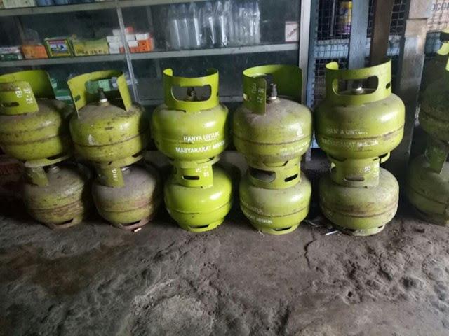 Harga  Gas Melon Melambung Tinggi, Masyarakat Minta Aparat Tingkatkan Pengawasan
