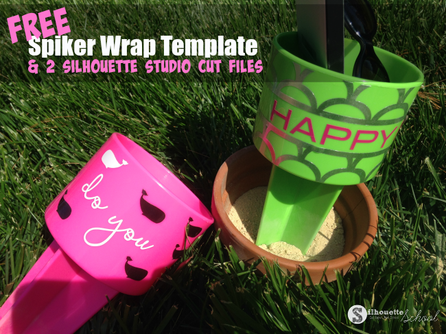 free spiker wrap vinyl template, vinyl, free spiker wrap template, Stilhouette Studio cut files