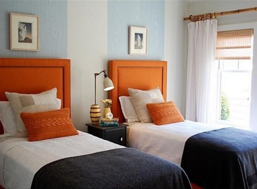 Eye For Design: Decorating With The Blue/Orange Color Combination
