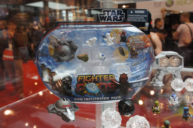 Figures Star Wars Fighter Pods Unveiled Nycc