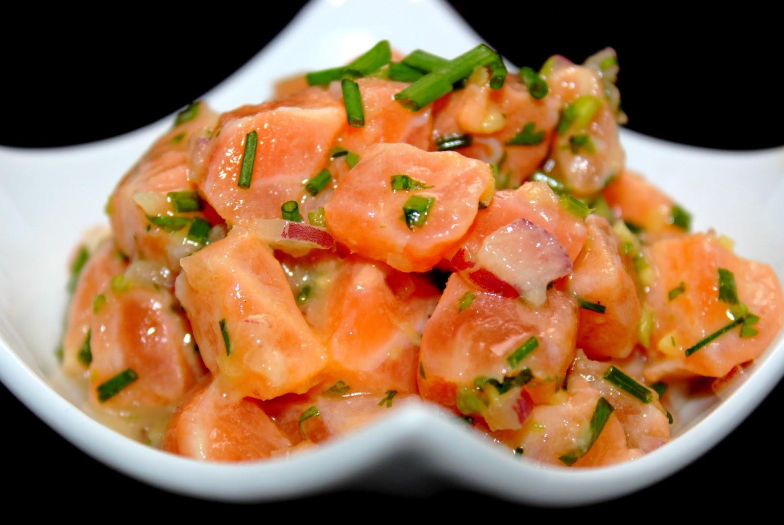 Invitations aux voyages culinaires: T89 - Tartare de Saumon