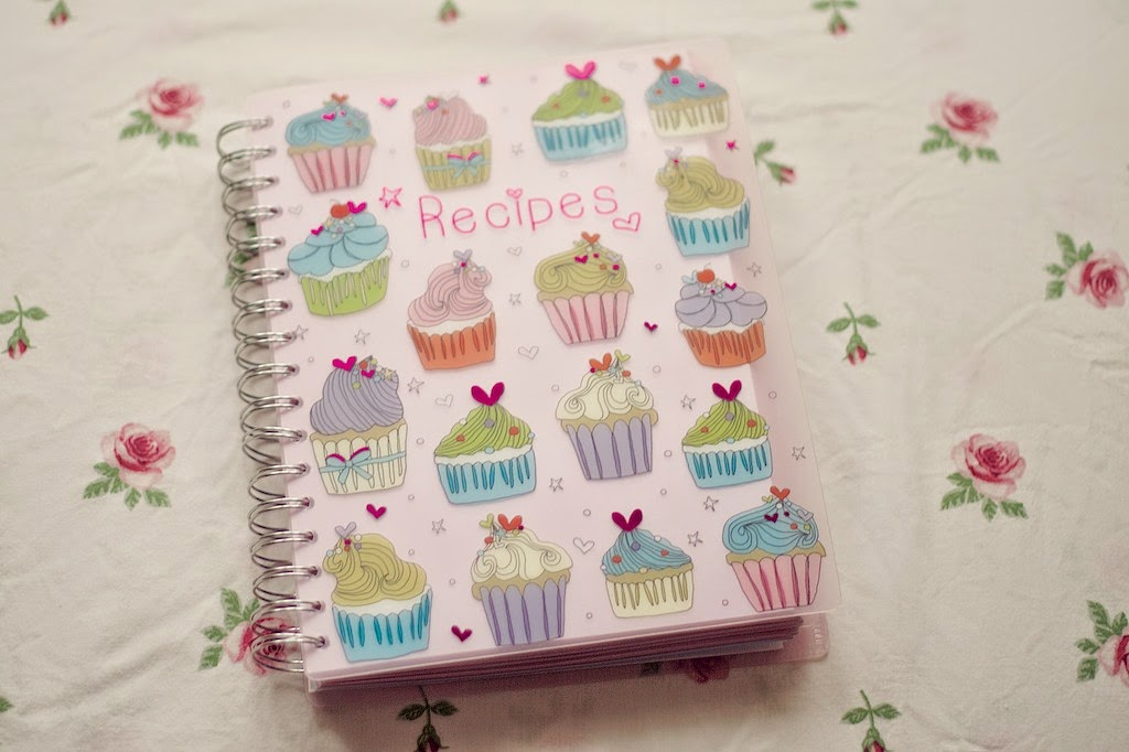 Cupcake design recipe book from Paperchase