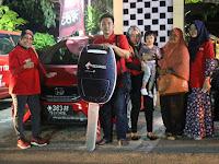 Ramadhan Raih I unit Honda Jazz Dari Telkomsel